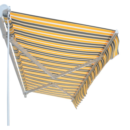 Garden Awning Patio Sun Shade Canopy Shelter With Replacement Fabric Rain Cover Ebay