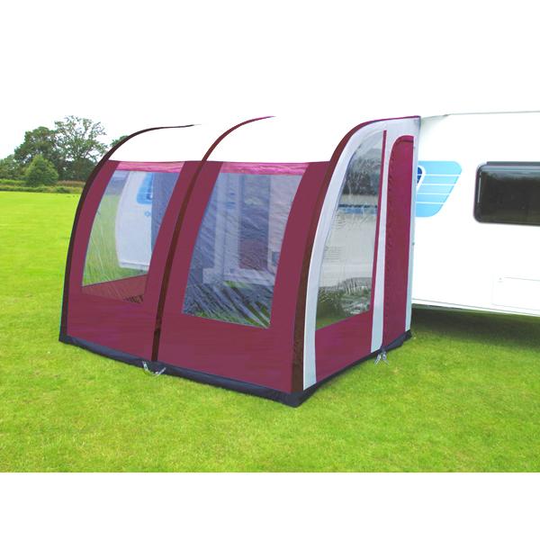 260cm L Lightweight Caravan Porch Awning Waterproof Red