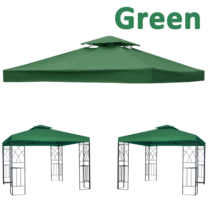 Garden Pavilion Gazebo Replacement Top Fabric Roof Canopy