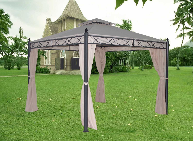Sun Shelter Metal : Metal gazebo pavilion awning canopy sun shade shelter
