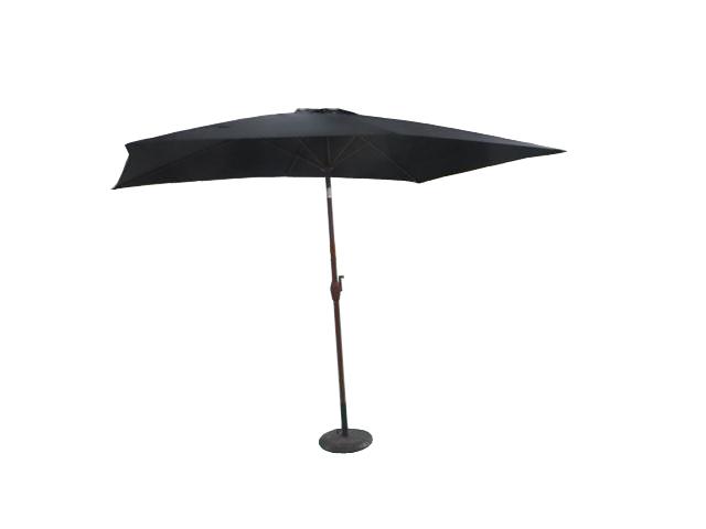 2x3m square garden parasol umbrella patio outdoor sun - Parasol deporte aluminium ...