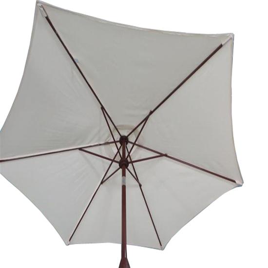 2 5m round garden parasol umbrella patio sun shade - Parasol deporte aluminium ...