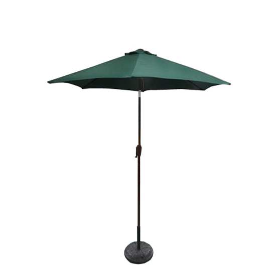 2 5m round garden parasol umbrella patio sun shade. Black Bedroom Furniture Sets. Home Design Ideas
