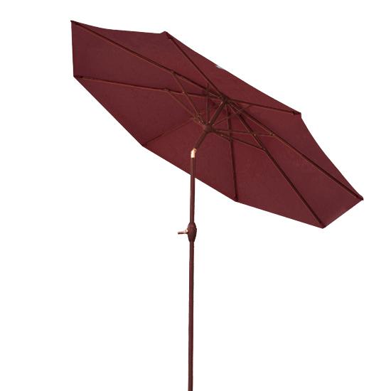 3m round garden parasol umbrella patio sun shade aluminium - Parasol deporte aluminium ...