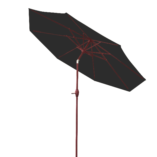 3m round garden parasol umbrella patio sun shade aluminium. Black Bedroom Furniture Sets. Home Design Ideas