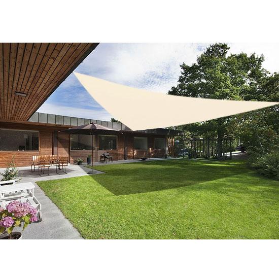 sun shade sail garden patio awning canopy sunscreen 98 uv. Black Bedroom Furniture Sets. Home Design Ideas