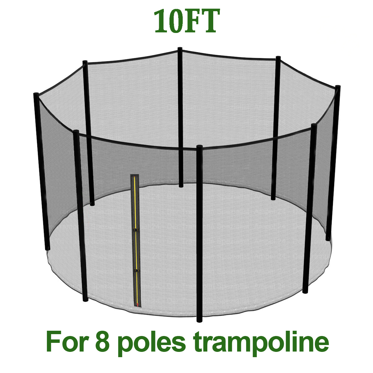 10FT Trampoline Replacement Safety Net Enclosure Sport