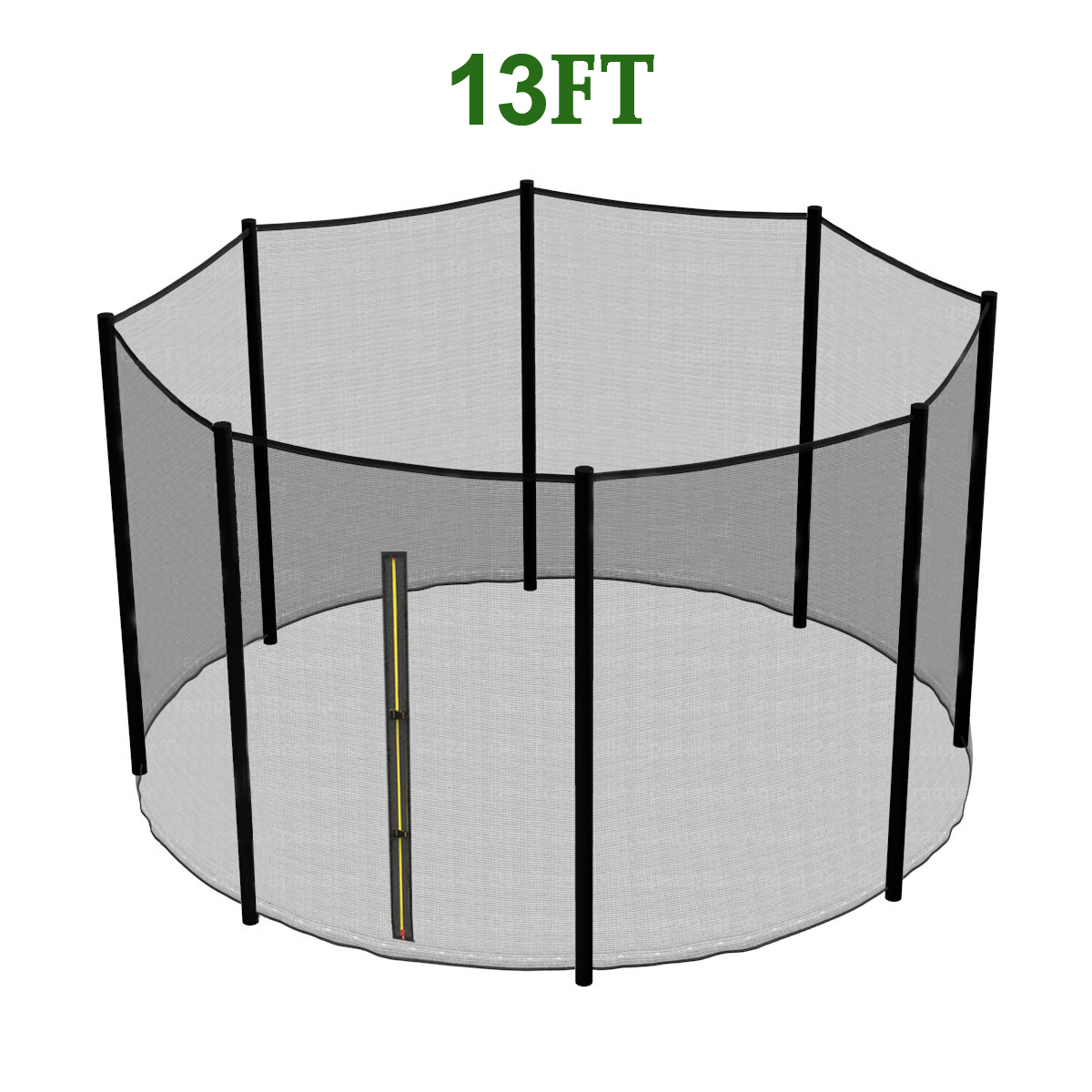 13ft Trampoline Replacement Safety Net Padding Spring
