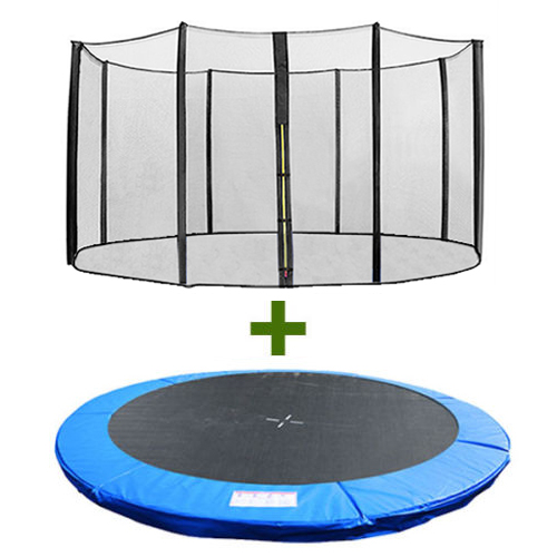 10 12 14 15 Trampoline Replacement Pad Pading Safety Net: Trampoline Replacement Spring Cover Padding Pad & Safety