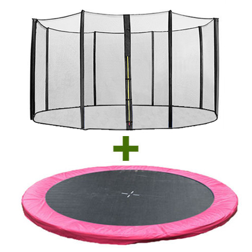 Trampoline Safety Pad Heavy Duty Waterproof 10ft 12ft 14ft: Trampoline Replacement Spring Cover Padding Pad & Safety