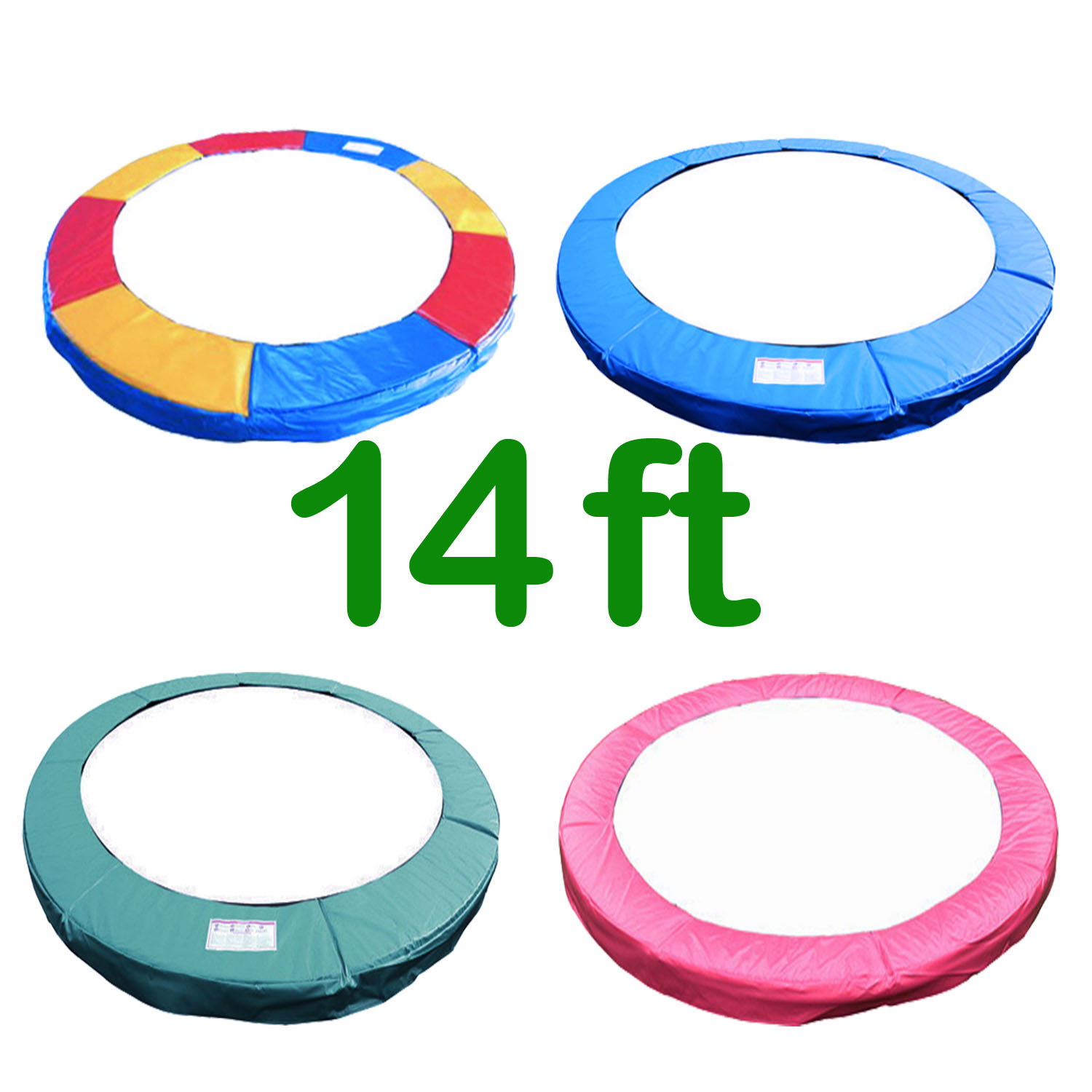 14 Ft Trampoline Safety Pad Epe Foam: 14 FT TRAMPOLINE REPLACEMENT PAD PADDING SPRING COVER FOAM