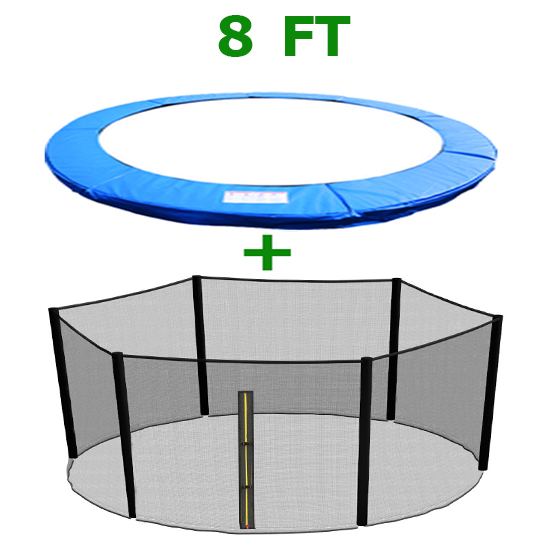 8FT Replacement Trampoline Spring Cover Padding Pad