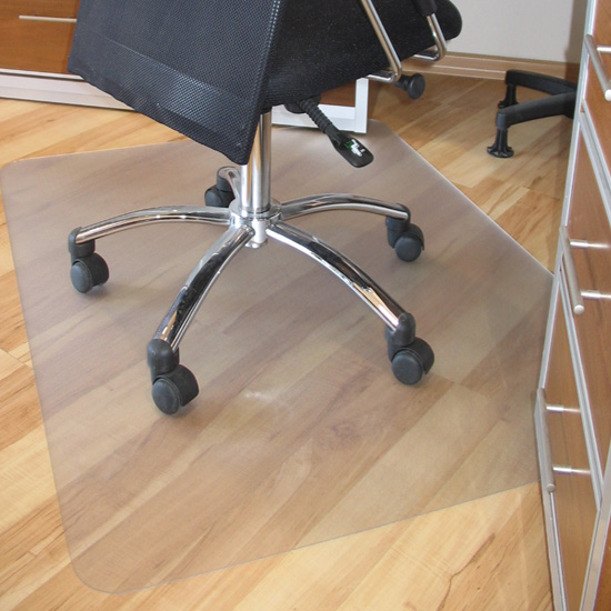 office home mat floor protector massage chair frosted pvc plastic new 150x120cm ebay. Black Bedroom Furniture Sets. Home Design Ideas