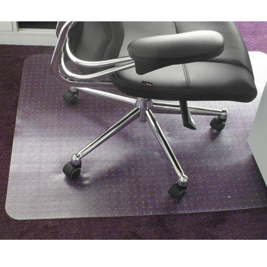 Home Office Mat Floor Protector Massage Chair Frosted PVC Plastic New 75x120c