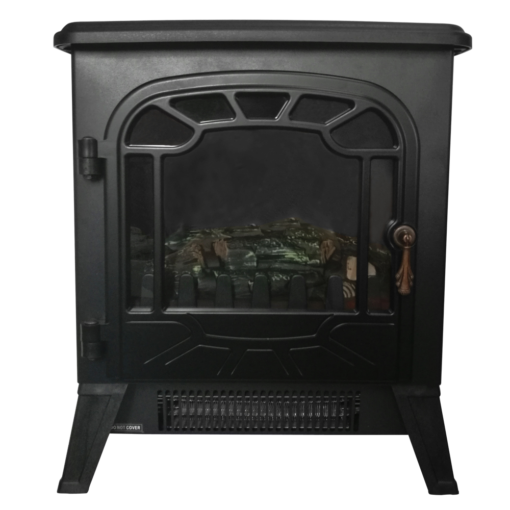 Electric Fireplace 1850w Fire Log Burning Flame Effect Stove Heater Living Room Ebay