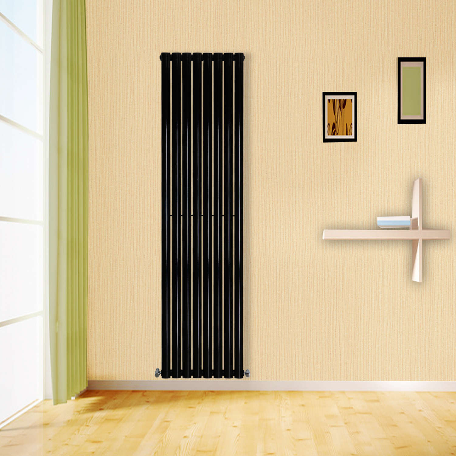 designer oval column bathroom radiators uk central heating horizontal vertical ebay