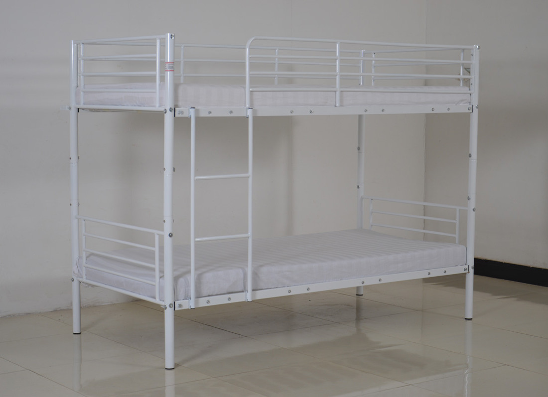 Space Saving Bedroom Bunk Bed Metal Frame Sleeper 2
