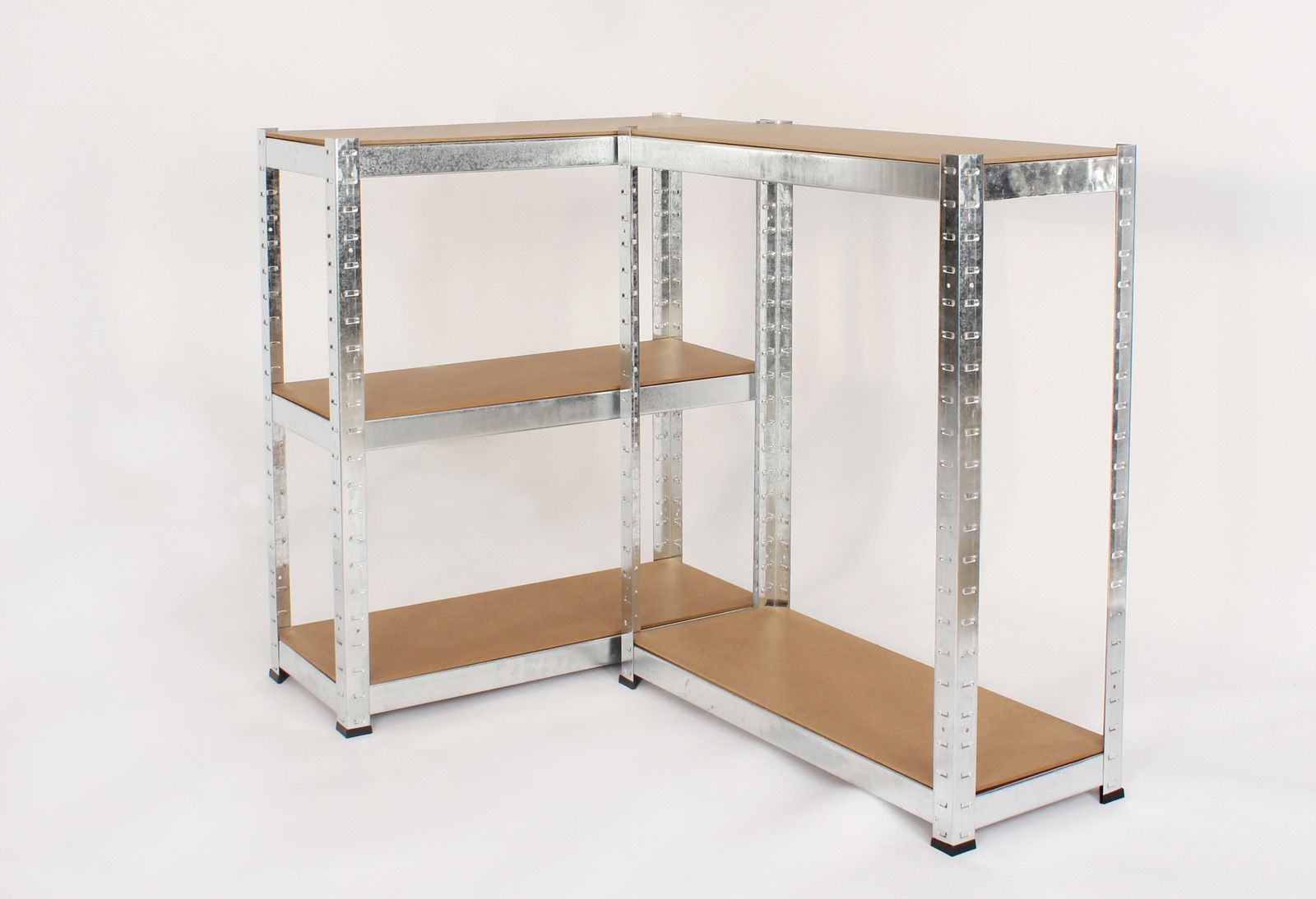 Heavy Duty Garage Storage Racks : Heavy duty metal racking tier garage storage shelf