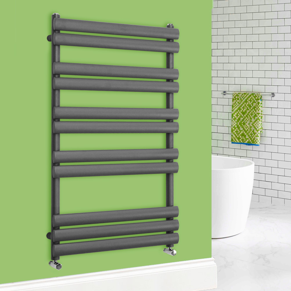 Heated Towel Rail Oval Column Rad Radiator Bathroom Heater