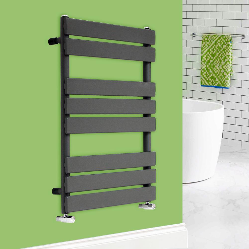 Heated Towel Rail Bathroom Radiator Designer Flat Panel