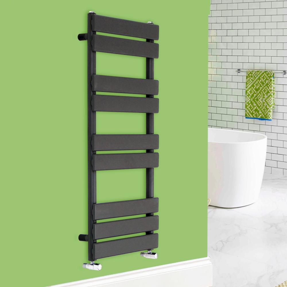 Heated Towel Rail Replace Radiator: Designer Flat Panel Bathroom Heated Towel Rail Radiator
