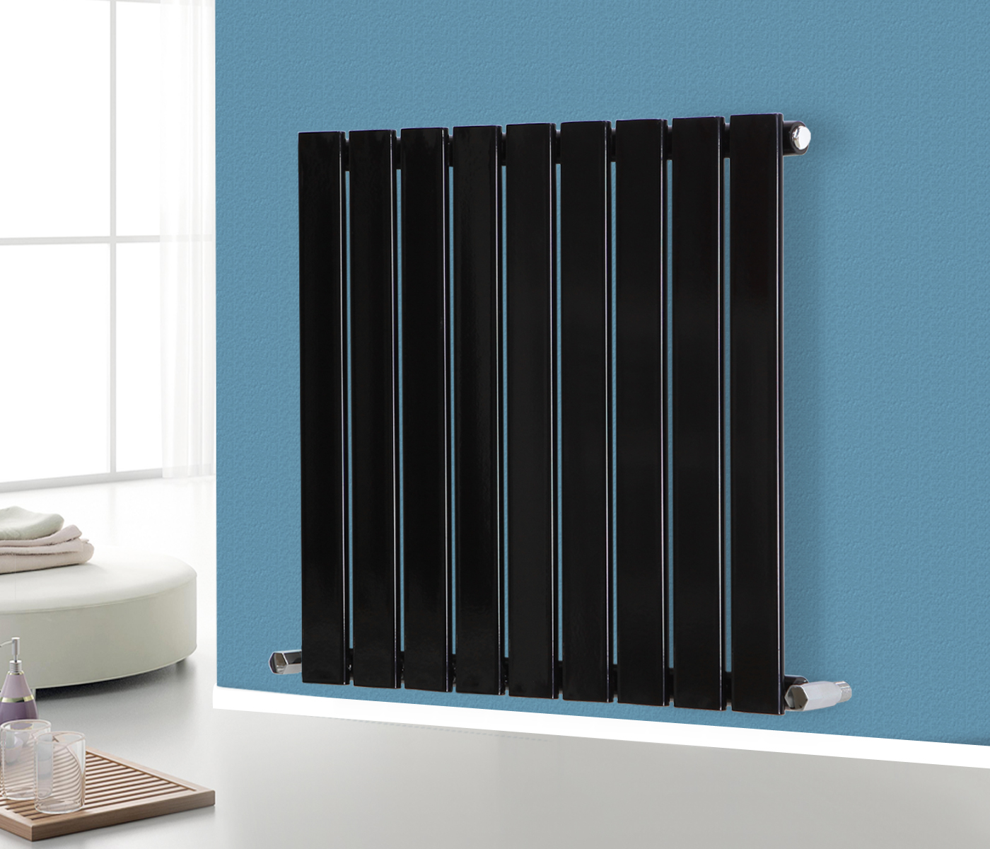 Bathroom Radiators flat panel column designer modern bathroom radiators central