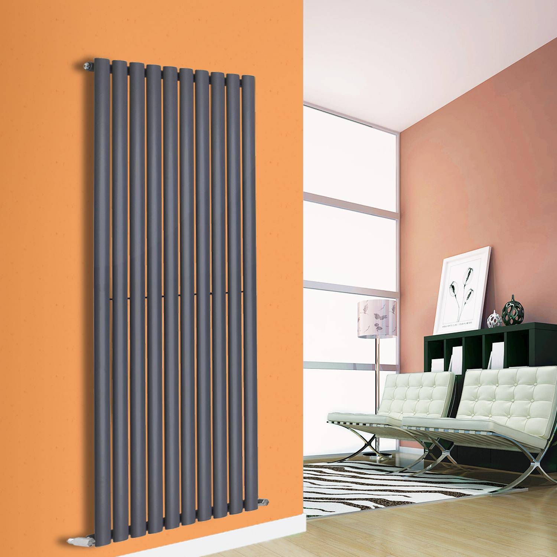 Vertical Radiator Designer Oval Column Bathroom Heater