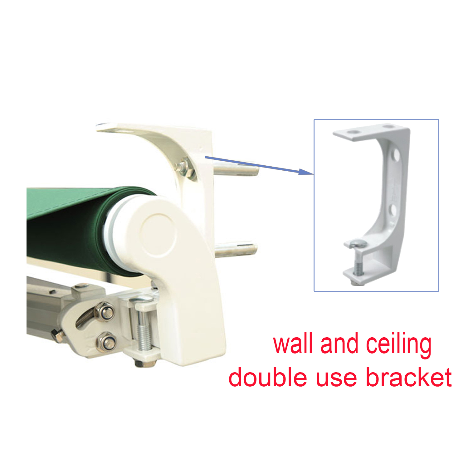 Standard Awning Bracket Fit 35mm Square Torsion Bar