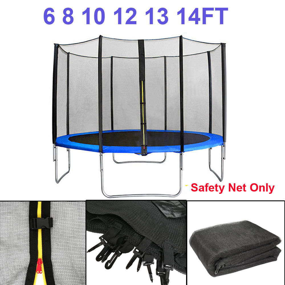 Trampoline Safety Net Replacement: TRAMPOLINE REPLACEMENT SAFETY NET ENCLOSURE SURROUND