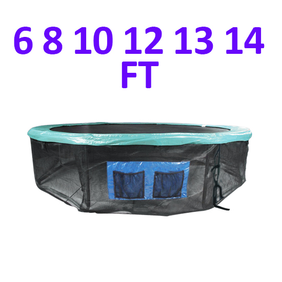 12 13 14 15 Round Trampoline Safety Pad Replacement: 6FT 8FT 10FT 12FT 13FT 14FT Trampoline Base Skirt Safety