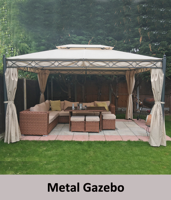 manual awning canopy garden patio shade shelter aluminium retractable greenbay ebay. Black Bedroom Furniture Sets. Home Design Ideas
