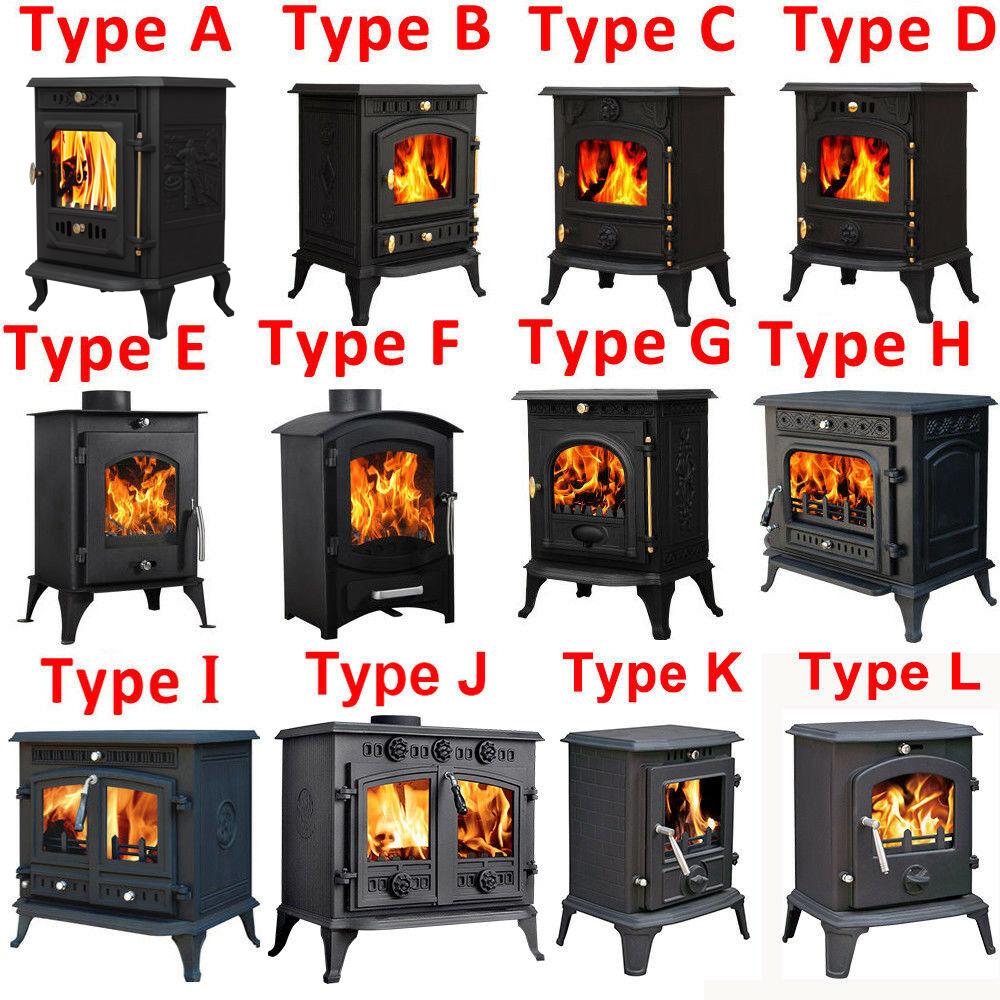 multifuel woodburner stove wood burning log burner fire