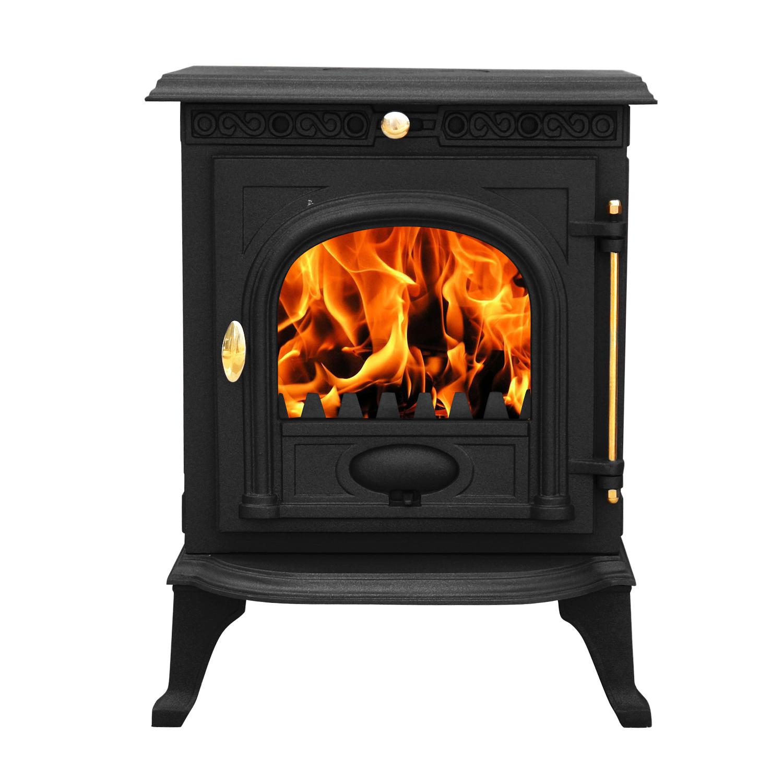 6 5kw welton cast iron log burner modern multifuel wood burning