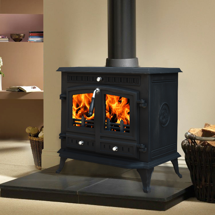 12kw branston cast iron log burner multifuel woodburning