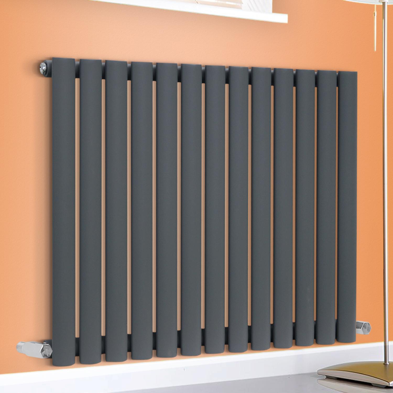 horizontal designer oval column bathroom radiators central. Black Bedroom Furniture Sets. Home Design Ideas