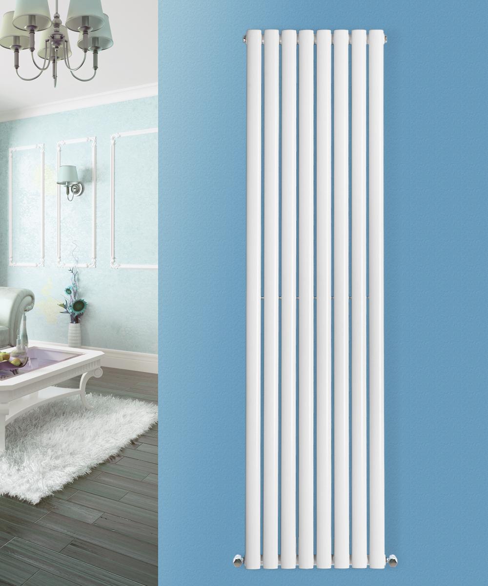 Bathroom Radiators horizontal vertical designer oval column panel bathroom modern