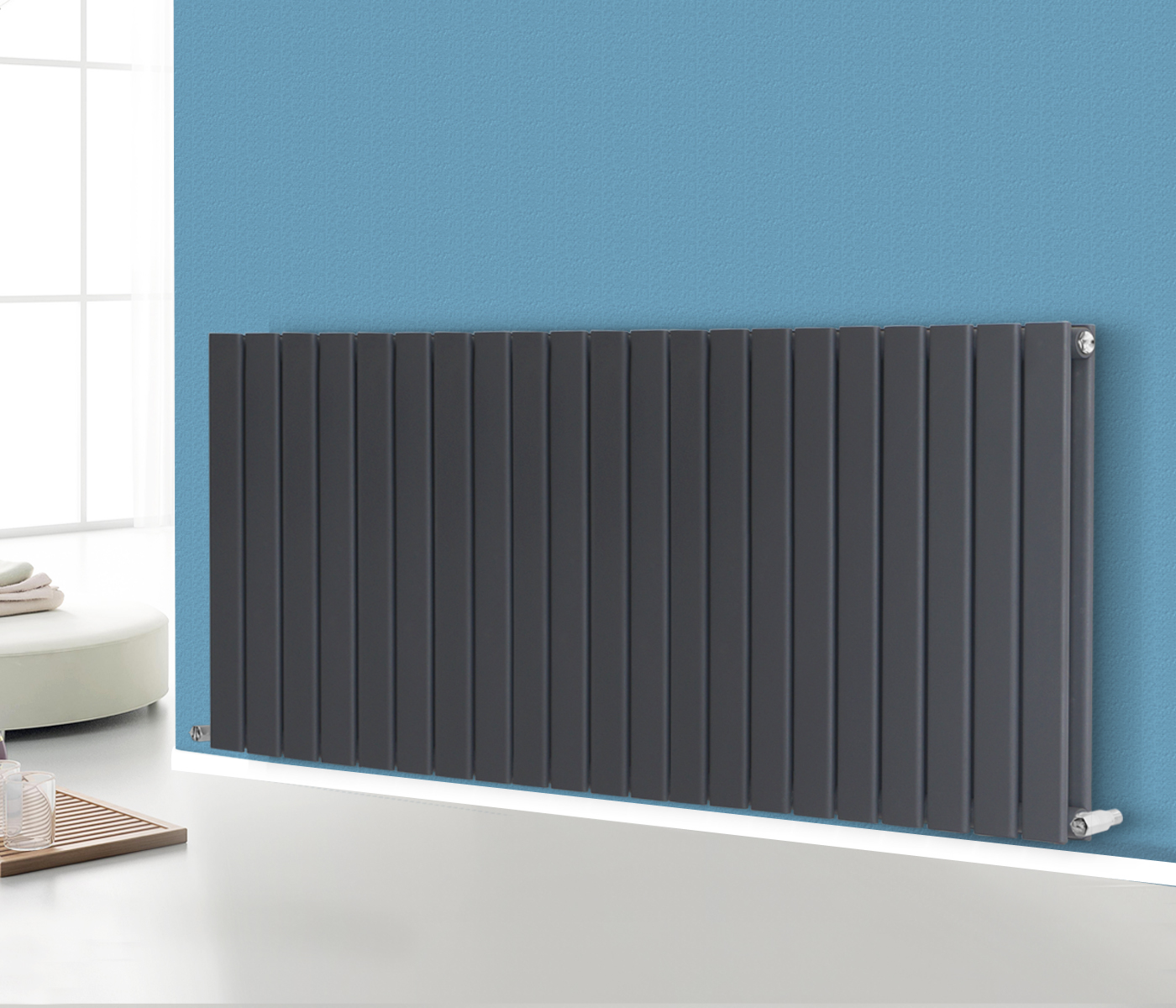Flat Panel Column Designer Modern Bathroom Radiators Central