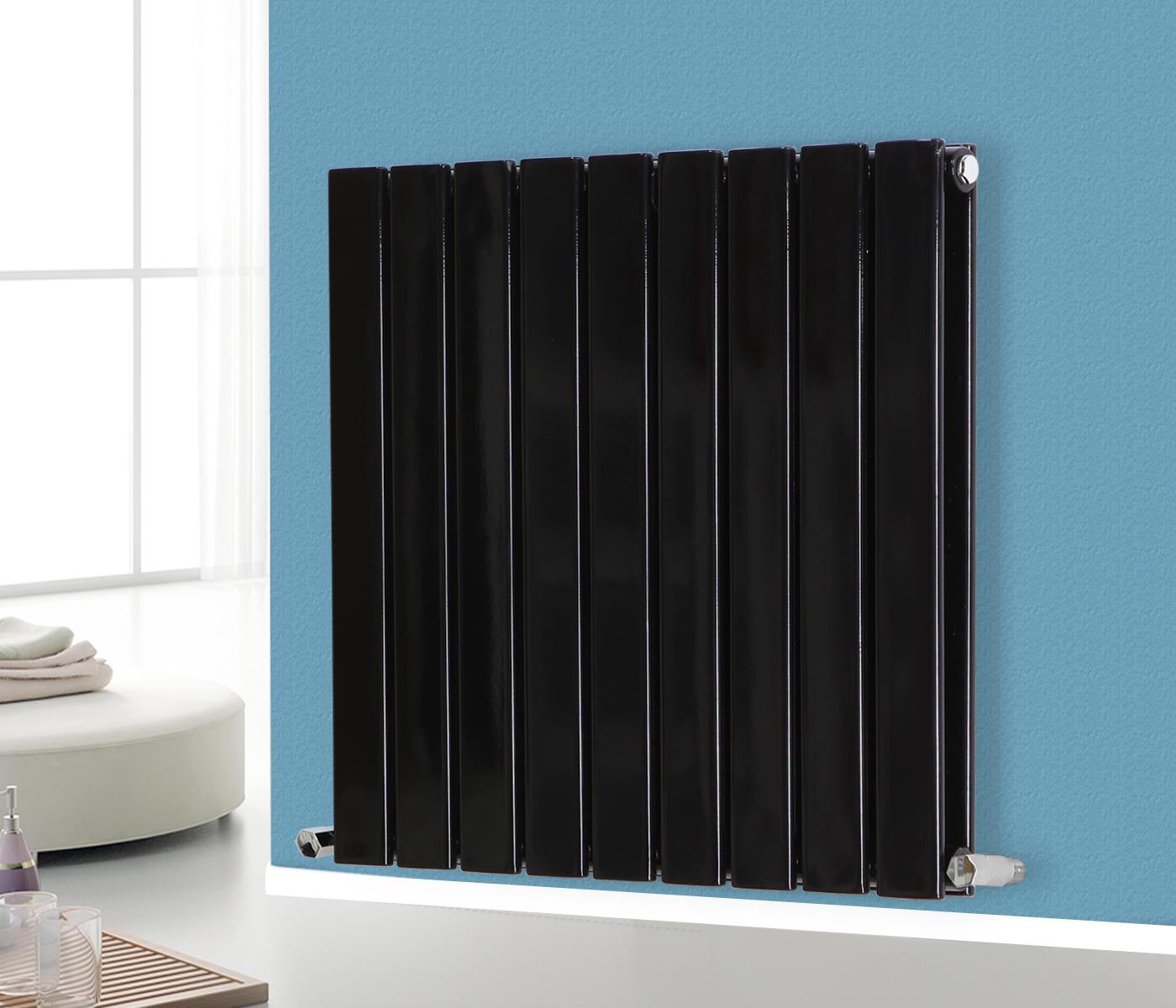 Horizontal Flat Panel Double Column Rad Bathroom Designer
