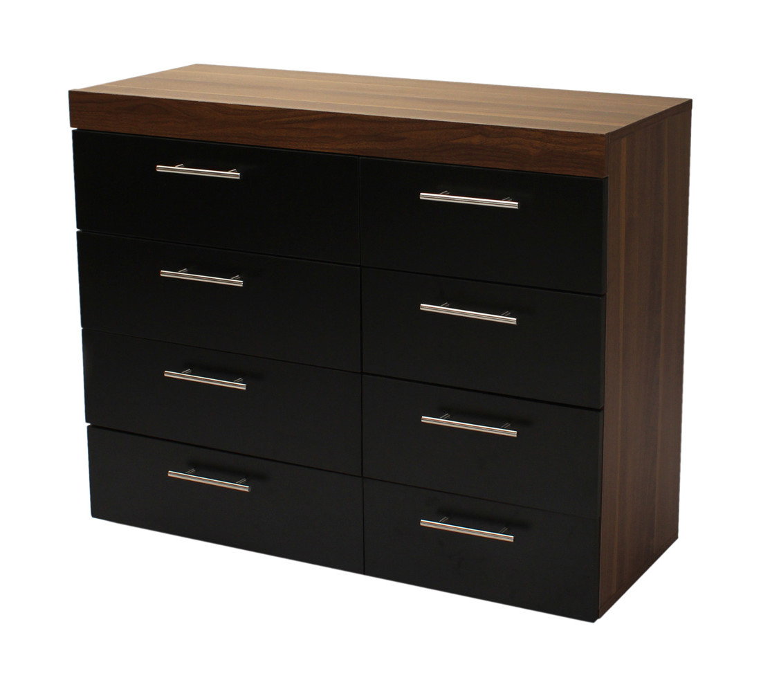 Brooklyn bedside cabinet 8 drawer chest 2 door wardrobe - Bedroom storage cabinets with drawers ...
