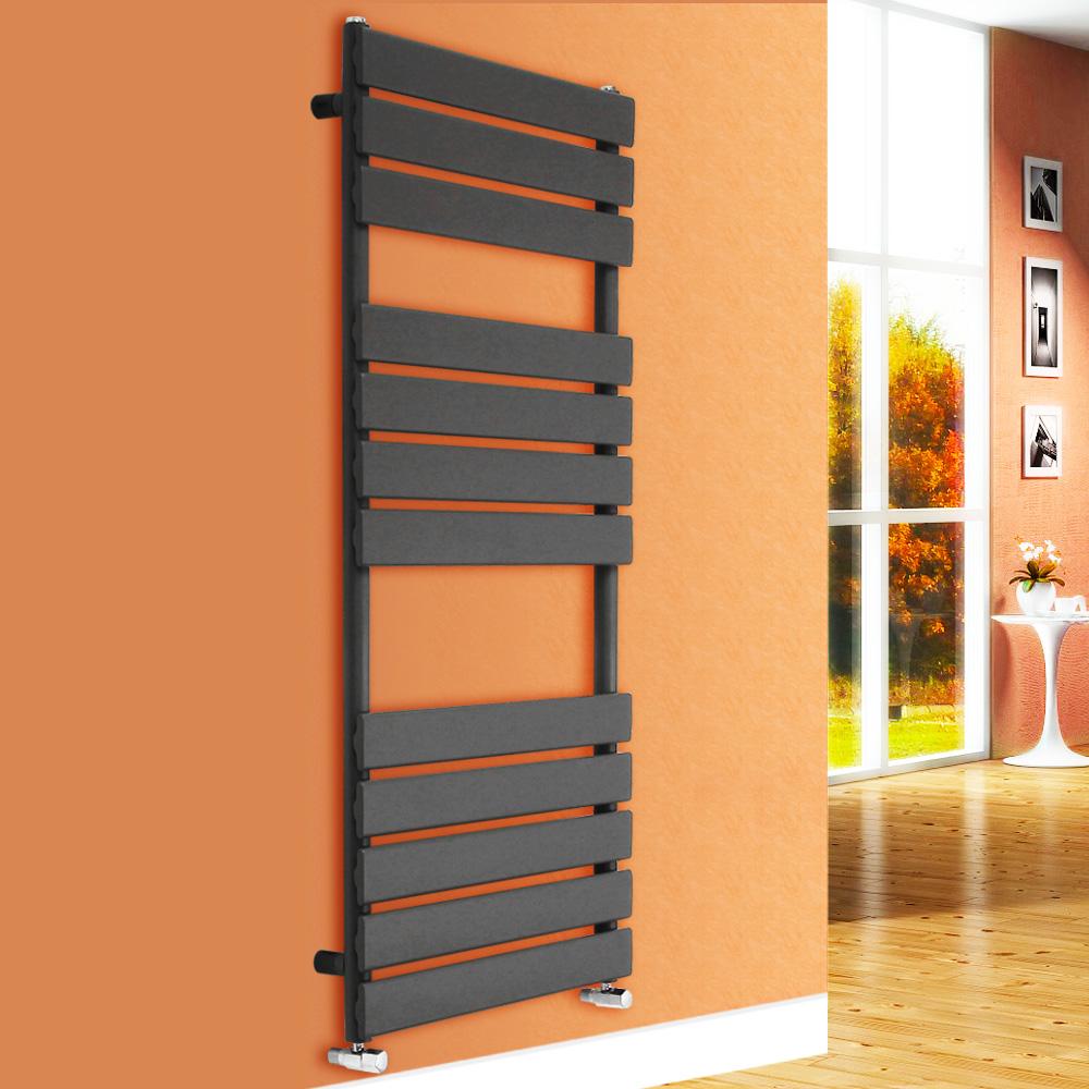 Heated Towel Rail Bathroom Radiator Designer Flat Panel: Designer Flat Panel Heated Towel Rail Bathroom Heater