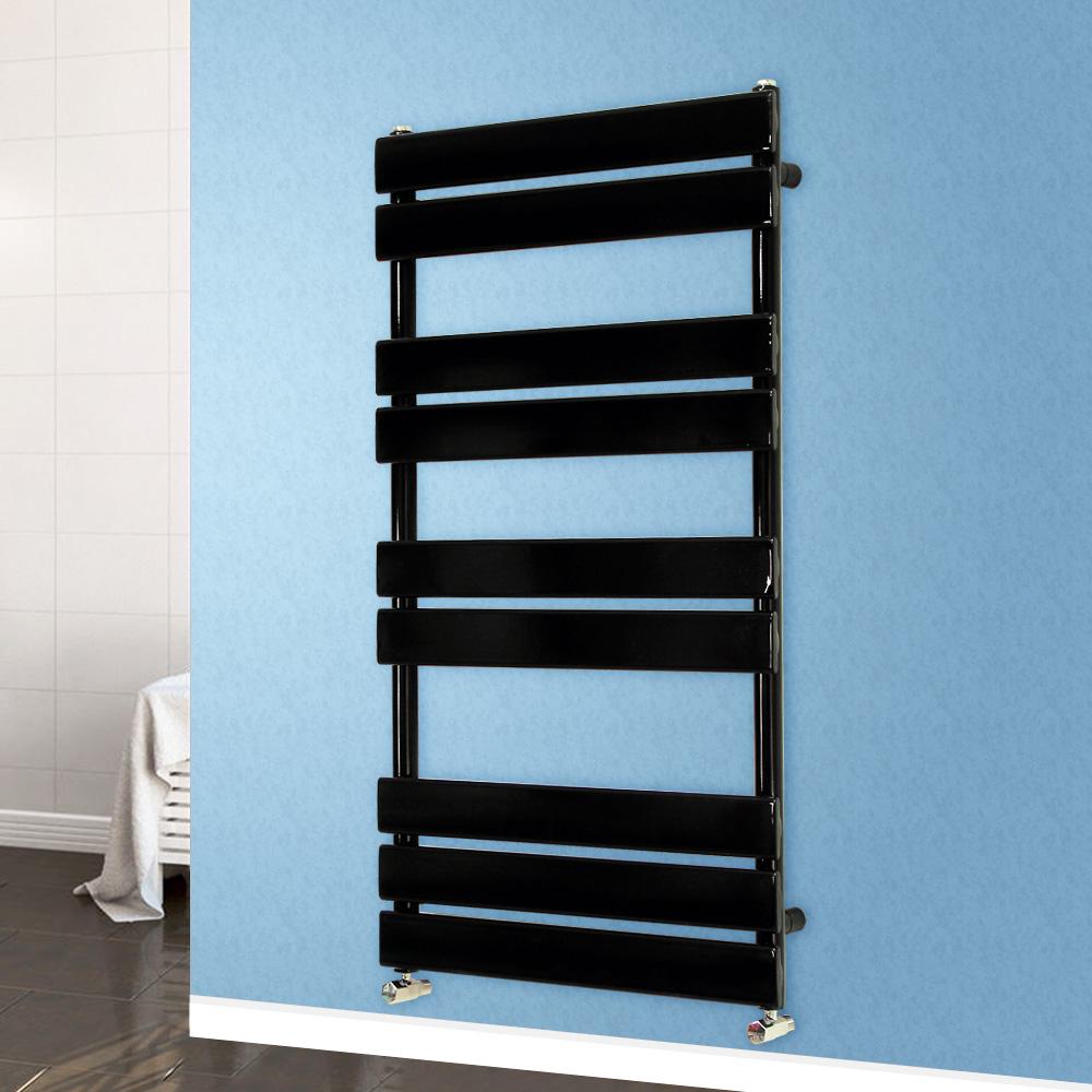 Designer Flat Panel Heated Towel Rail Bathroom Radiator