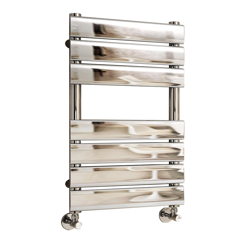 Designer Flat Panel Heated Towel Rail Bathroom Heater UK ...