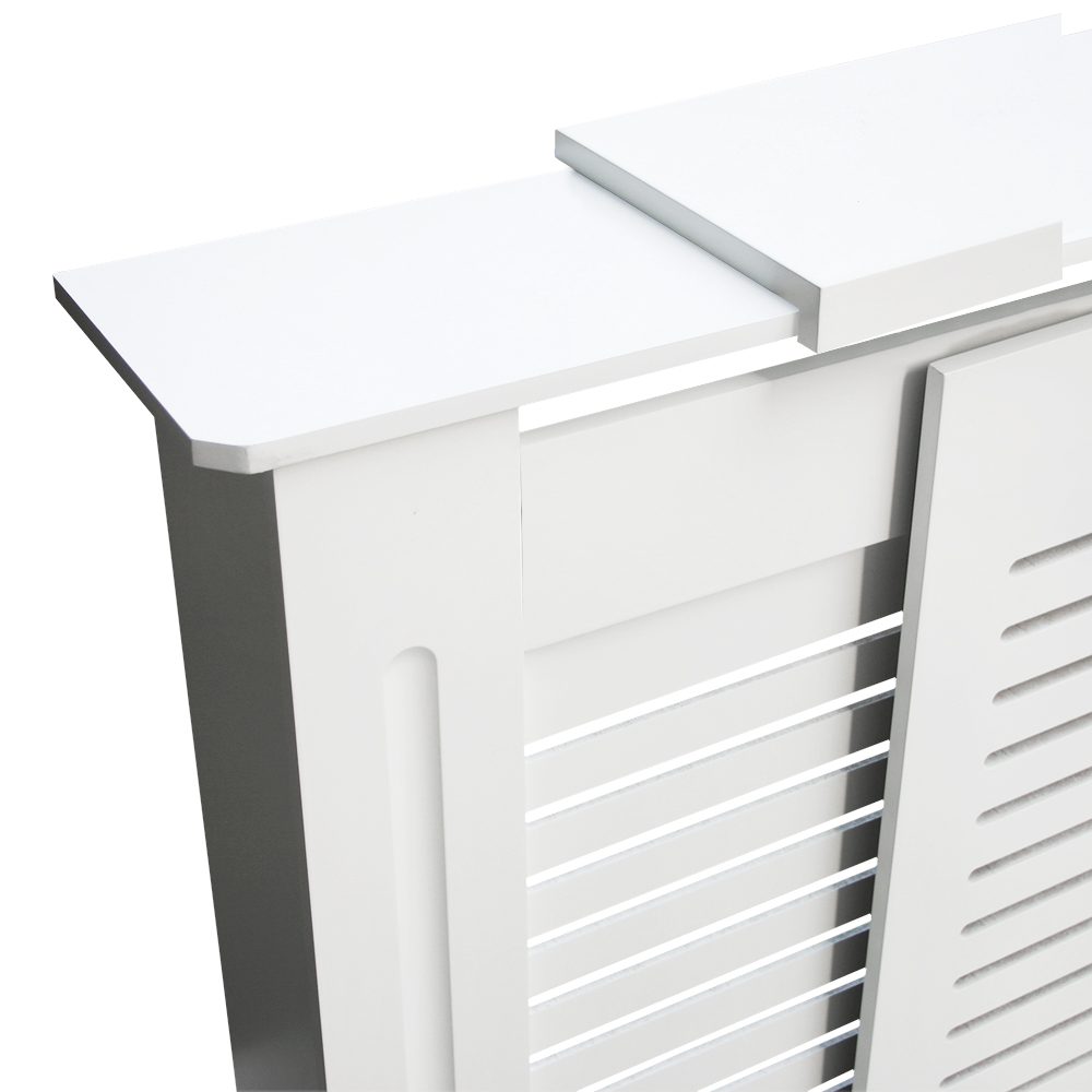 Painting Mdf Kitchen Cabinets White: White Painted MDF Radiator Cover Wall Cabinet Home
