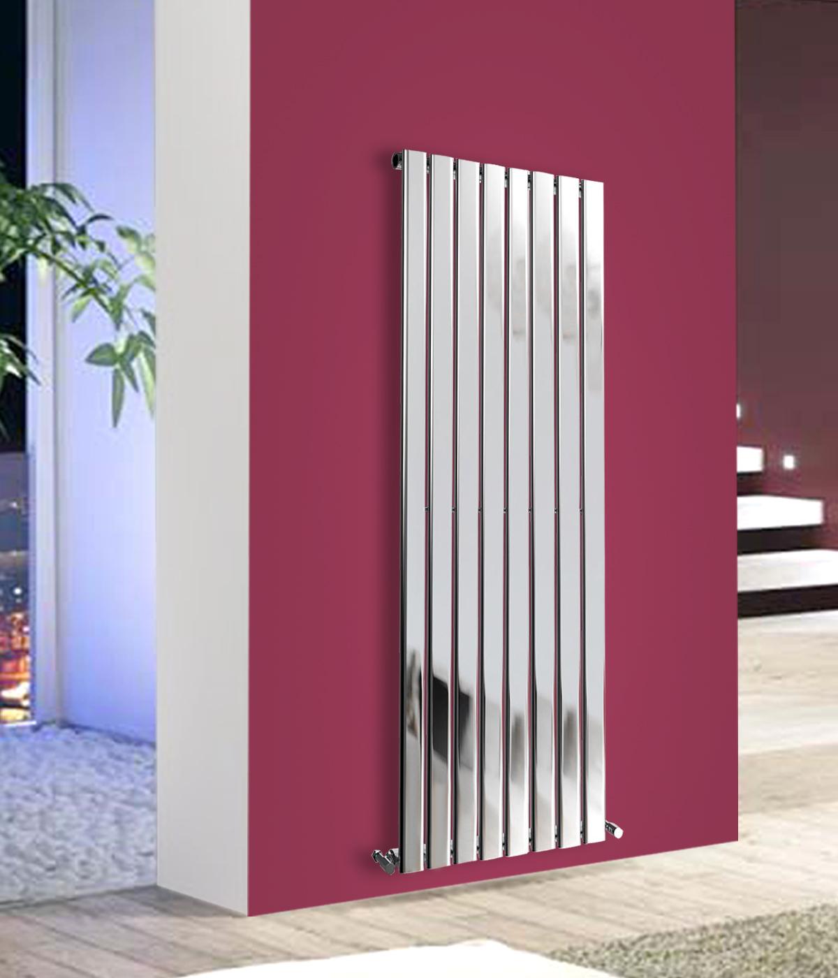 Vertical Flat Panel Column Designer Bathroom Central