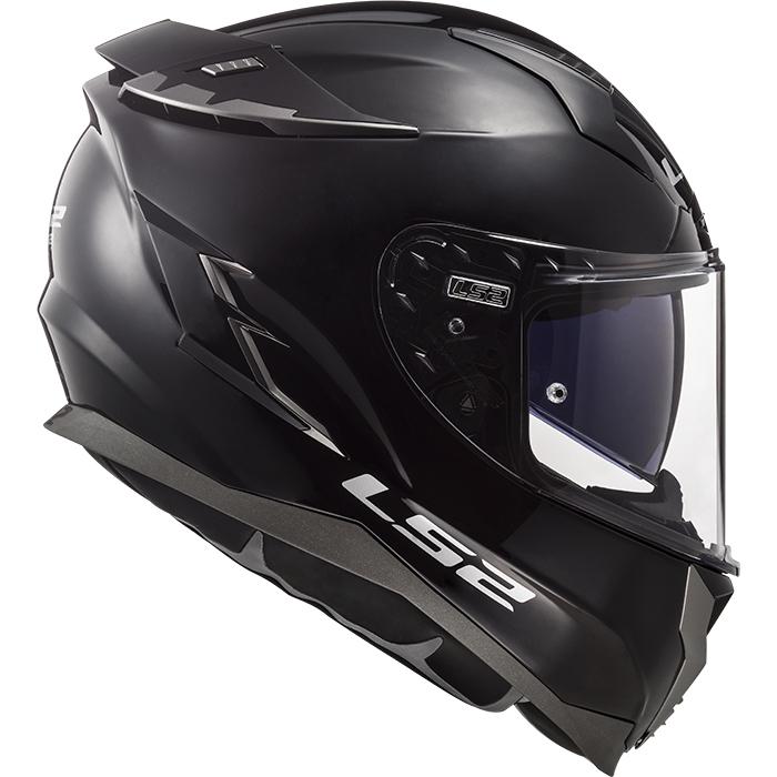 LS2 Challenger FF327 Solid White Motorbike Motorcycle Helmets