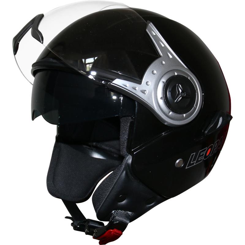 leopard leo 612 casques jet scooter casque bol de moto. Black Bedroom Furniture Sets. Home Design Ideas