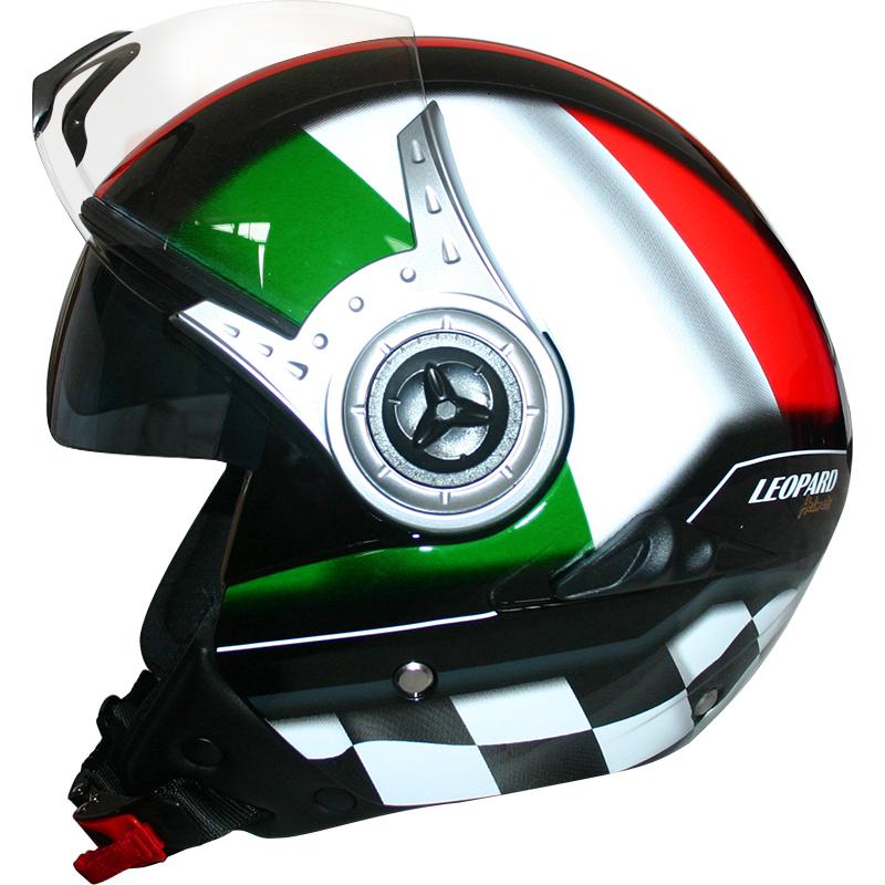 Casque moto italien