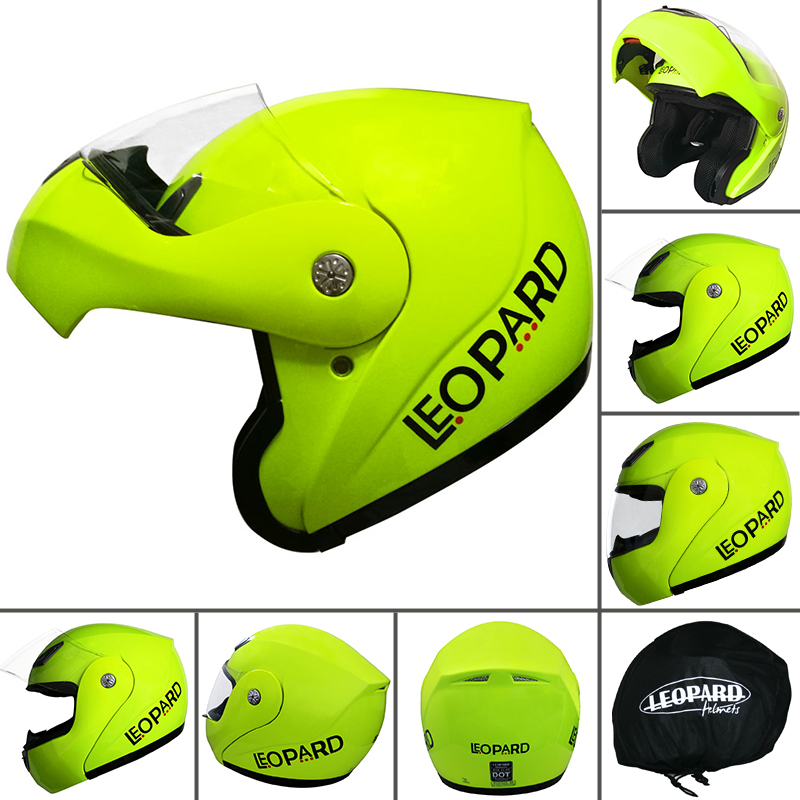 LEOPAR-Ranger-Casque-de-Moto-Casques-Modulables-Crash-Optionnel-Visiere-Brillant