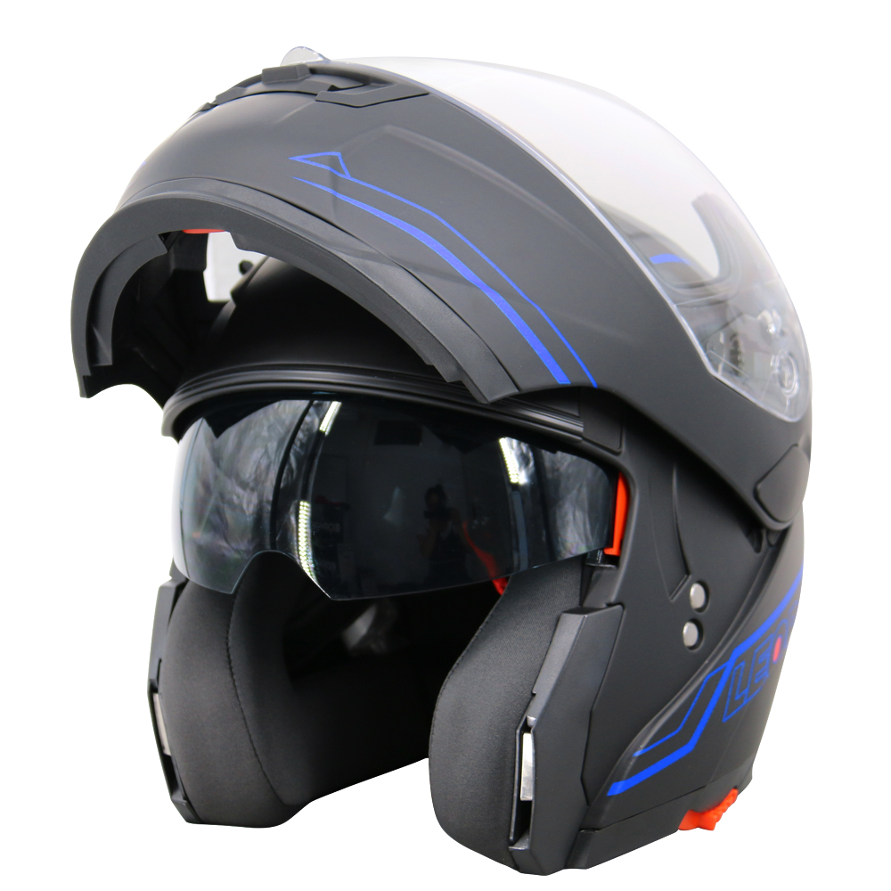LEOPARD-Safari-Casques-Modulables-Casque-Moto-Pare-soleil-integre-Double-Visiere