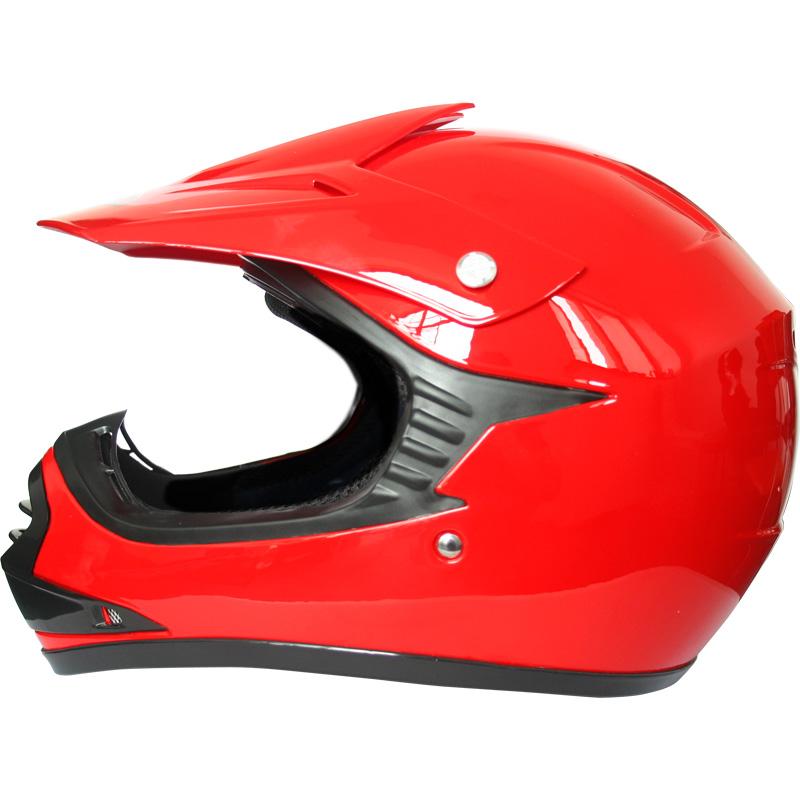 leoprad leo x15 casque bol de moto cross enfants quad bmx brillant noir rouge ebay. Black Bedroom Furniture Sets. Home Design Ideas